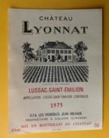 10278 - Château Lyonnat 1975 Lussac-St-Emilion - Bordeaux