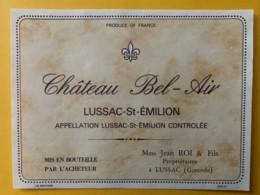 10280 - Château Bel-Air Lussac-St-Emilion - Bordeaux