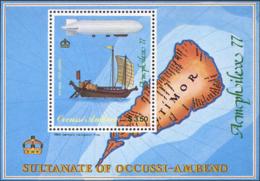 Ref. 232979 * NEW *  - OCUSSI-AMBENO . 1977. AMPHILEX-77. AMPHILEX-77 - Timor Oriental