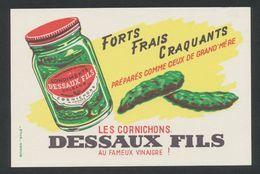 Buvard - Les Cornichons DESSAUX &Fils - D