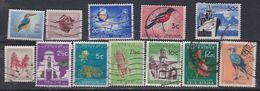 Afrique Du Sud N° 248 / 59 O Série Incomplète De 12 Valeurs (manque 260) Oblitérations Moyennes Sinon TB - Afrique Du Sud (1961-...)