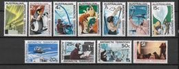 AUSTRALIAN ANTARCTIC TERRITORY - YVERT N° 8/18 * MLH (CHARNIERE TRES LEGERE) - COTE = 100 EUR. - Unused Stamps