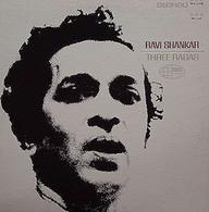 LP/ Ravi Shankar - Three Ragas - World Music