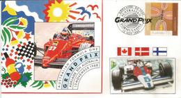 Australian F1 Grand Prix, Enveloppe Spéciale Adelaide Street Circuit 1988 - Voitures