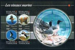 Bloc Sheet Oiseaux Marins Birds Seabirds Neuf MNH ** Togo 2015 - Albatros
