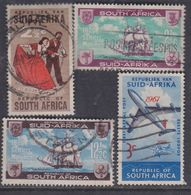 Afrique Du Sud N° 261 / 64 O  Les 4 Valeurs Oblitérations Moyennes Sinon TB - Afrique Du Sud (1961-...)