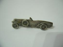 ALFA ROMEO SPORT 1922 VECCHIO GADGET SPILLA DISTINTIVO BADGE IN METALLO VINTAGE. - Alfa Romeo
