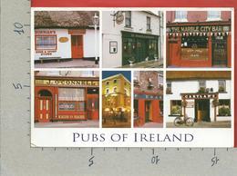 CARTOLINA VG IRLANDA - Pubs Of Ireland - Vedutine Multivue - 12 X 17 - ANN. 2006 - Altri