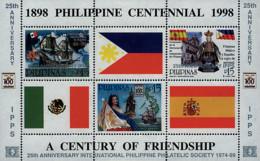 Ref. 65128 * NEW *  - PHILIPPINES . 1999. 25 ANIVERSARIO DE LA SOCIEDAD FILATELICA FILIPINA INTERNACIONAL - Filipinas
