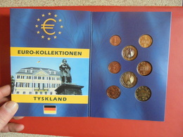 ALLEMAGNE UNC 2002 SERIE COMPLETE - Germany
