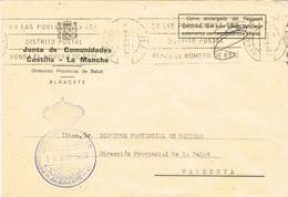 32256. Carta ALBACETE 1983. Franquicia Direccion Provincial De Sanidad - 1931-Hoy: 2ª República - ... Juan Carlos I