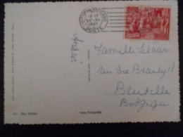 Vatican Lettre De 1952 Pour Bruxelles - Lettres & Documents