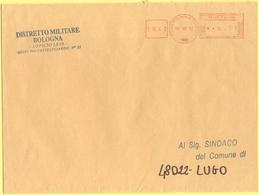 ITALIA - ITALY - ITALIE - 2002 - 0,77 EMA, Red Cancel - Comune Di Bologna - Viaggiata Da Bologna Per Lugo - Affrancature Meccaniche Rosse (EMA)