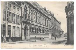 Cpa...Saint-Omer...le Lycée...animée...1928... - Saint Omer