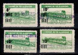Algerie - Colis Postaux N** Luxe YV 167 / 168 / 169 / 170 - Algeria (1924-1962)