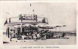 CARTOLINA - POSTCARD - CAPO VERDE - ILHA DO SAL - PALMEIRA - POUSADA - Capo Verde