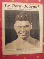 Le Petit Journal Illustré 26 Juin 1921. Boxe Georges Carpentier Jack Dempsey. Sabotages Voies Ferrées Paquebot - Books, Magazines, Comics