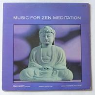 LP/ Tony Scott, Shinichi Yuize, Hozan Yamamoto - Music For Zen Meditation - Wereldmuziek