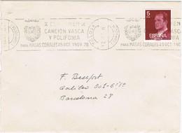 32260. Carta TOLOSA (Guipuzcoa) 1978. Rodillo Especial Cancion Vasca. Floklore, Coral - 1931-Hoy: 2ª República - ... Juan Carlos I