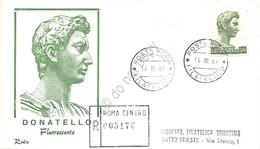 FDC Rodia Repubblica 1969 - San Giorgio Serie Ordinaria - Raccomandata Viaggiata - Francobolli