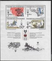 CECOSLOVACCHIA - BIB '83 - BIENNALE BRATISLVA - ILLUSTRAZIONI PER BAMBINI - FOGLIETTO NUOVO **(YVERT BF61 - MICHEL BL55) - Blocchi & Foglietti