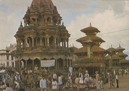 CARTOLINA - POSTCARD - NEPAL - PAGODY W PATANIE - Nepal