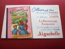 CHOCOLATS AIGUEBELLE  BUVARD Collection Illustré PROMENADE ENCHANTEE Publicitaire Publicité Alimentaire Chocolat - Cocoa & Chocolat