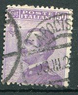 """Regno D'Italia - 1908 - """"Michetti"""" Sass. 85 - 1900-44 Victor Emmanuel III"""