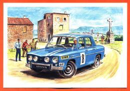 CPM Rallye Renault 8 Gordini - Illustrée Par Alain Chevrier - Rallyes