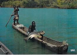 Afrique En Couleurs - Africa In Colour - Pêche Au Capitaine (A)  (fisching Pêcheur Poisson Pirogue) *PRIX FIXE - Non Classés