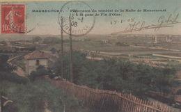Maurecourt : Panorama Du Remblai De La Halte De Maurecourt à La Gare De Fin D'Oise - Maurecourt