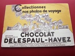 CHOCOLAT DELESPAUL-HAVEZ MARCQ-EN-BAREUIL- BUVARD Collection Illustré Publicitaire Publicité Alimentaire Chocolat - Cocoa & Chocolat