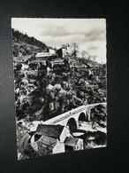 CPSM, Carte Postale, Lozère 48, Les Gorges Du Chassezac à Ste Sainte-Marguerite, Environs De Villefort Et Des Vans - Villefort