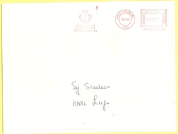 ITALIA - ITALY - ITALIE - 2002 - 000,77 EMA, Red Cancel - Comune Di Fusignano - Viaggiata Da Fusignano Per Lugo - Affrancature Meccaniche Rosse (EMA)