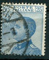 """Regno D'Italia - 1908 - """"Michetti"""" Sass. 83 - 1900-44 Victor Emmanuel III"""