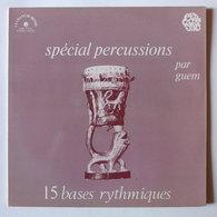 LP/ Guem - Spécial Percussions. 15 Bases Rythmiques - World Music