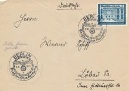 Deutsches Reich - 1939 - 4Pf Kameradschaftsblock On Cover From Berlin To Löbau - Germany