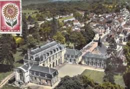 77 - CONDE STE LIBIAIRE : Le Chateau  - CPSM Dentelée Colorisée Grand Format 1967 - Seine Et Marne - Other Municipalities