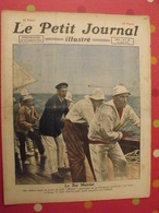 Le Petit Journal Illustré 14 Août 1921. Régates Cowes Roi Georges V Accident D'avion Istres Boxe Johnson Caruso - Bücher, Zeitschriften, Comics