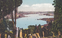 CARTOLINA - POSTCARD - TURCHIA - CONSTANTINOPLE - LE CIMETIRE E' EYOUB ET LA CORNE D'OR - Turchia