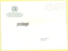 ITALIA - ITALY - ITALIE - 2002 - 0,36 EMA, Red Cancel - Alfa Consulenze - Viaggiata Da Verona Per Lugo - Affrancature Meccaniche Rosse (EMA)