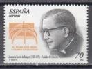 ESPAÑA 2000 - JOSE Mª ESCRIVA DE BALAGUER - FUNDADOR DEL OPUS DEI - Edifil Nº 3721 - Yvert Nº 3288 - 1931-Aujourd'hui: II. République - ....Juan Carlos I