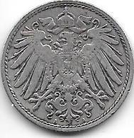 Empire 10  Pfennig  1900  A   Km  12 - [ 2] 1871-1918 : Empire Allemand