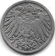 Empire 10  Pfennig  1900  D   Km  12 - [ 2] 1871-1918 : Empire Allemand
