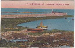 44. LE CROISIC. La Jetée De Tréhic, Prise Du Lénigo. 1782 - Le Croisic
