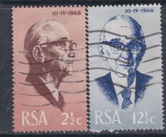 Afrique Du Sud N° 311 / 12  O Election Du Nouveau Président  Les 2 Vals Oblitérations Moyennes Sinon TB - Afrique Du Sud (1961-...)