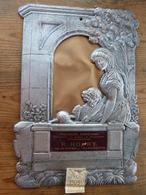 Porte-lettres Publicitaire Cartonné 26 X 38 Gaufré Art Nouveau Confections R. HOURY (41) ROMORANTIN Calendrier 1909 - Autres Collections