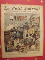 Le Petit Journal Illustré 30 Octobre 1921.habitations Insalubres Tuberculose Paris Espagnols Au Maroc Aman - Books, Magazines, Comics
