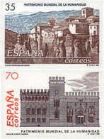 Ref. 83199 * NEW *  - SPAIN . 1998. HUMANITY WORLD HERITAGE. PATRIMONIO MUNDIAL DE LA HUMANIDAD - 1931-Hoy: 2ª República - ... Juan Carlos I