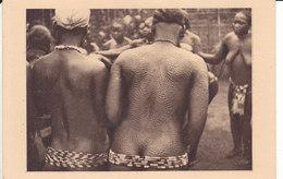 Lot De 3 Cpa  Femmes Seins Nus, Tatouage, Plateau Non écrites TBE - Centraal-Afrikaanse Republiek